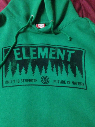 buzo element xl como nuevo skate