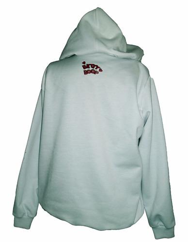 buzo hoodie betty boop para niña