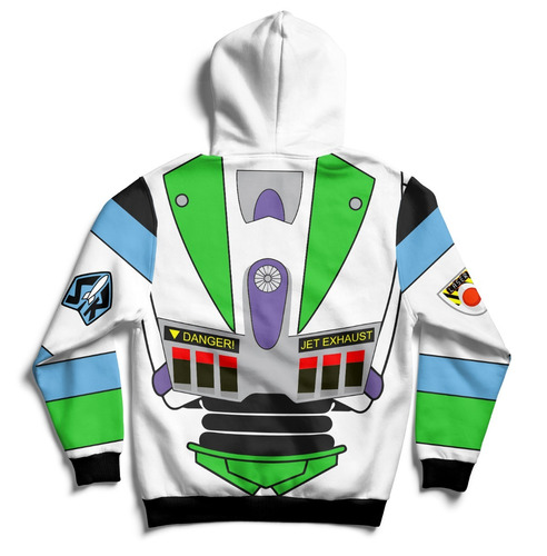 buzo hoodie buzz lightyear toy story full print