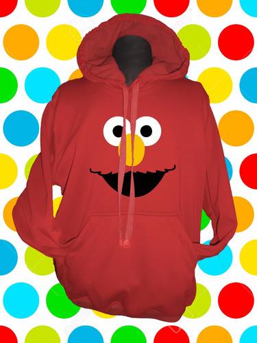 buzo hoodie elmo para niños