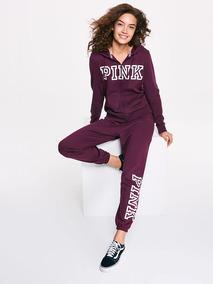 style de la mode de 2019 dernière vente chaussures d'automne Buzo + Jogging Victorias Secret Pink Talle S Importado