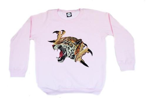 buzo leopardo unisex