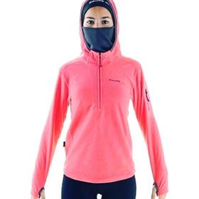 Buzo Micropolar Capucha Y Cuello Mujer Termico Running Equip