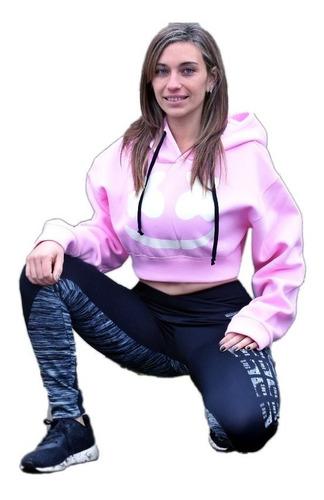 buzo mujer capucha marshmello dj buzo crop top brilla noche