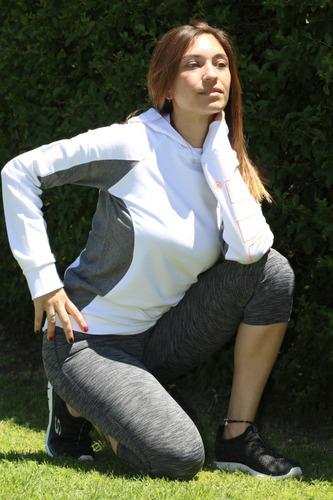 buzo mujer deportivo gym running art 6112