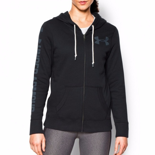 buzo mujer favorite popover hoody con capucha under armour