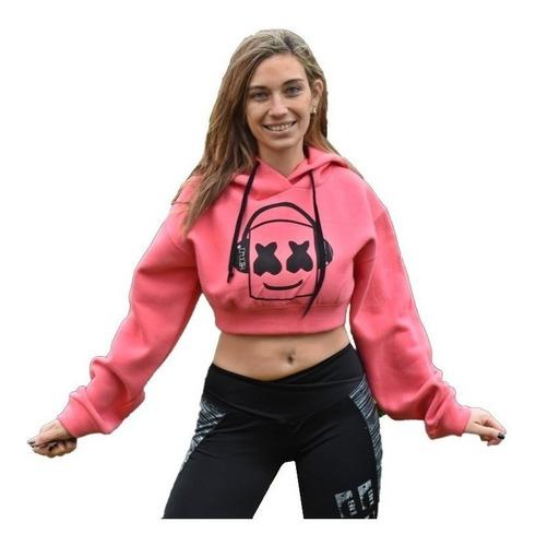 buzo mujer marshmello dj electro ropa crop top urban buzos