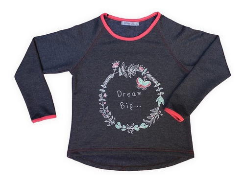 buzo nena dream big chic invierno