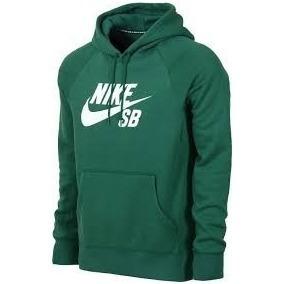 buzo nike sb con capucha verde original nuevo logo blanco