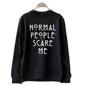 Buzo Normal People Scare Me American Horror Story Frases