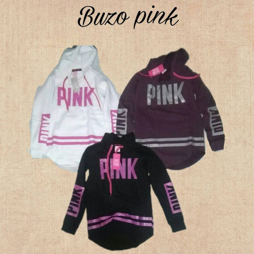 buzo pink frizado (victoria´s secret)