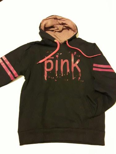 buzo pink, victoria secret