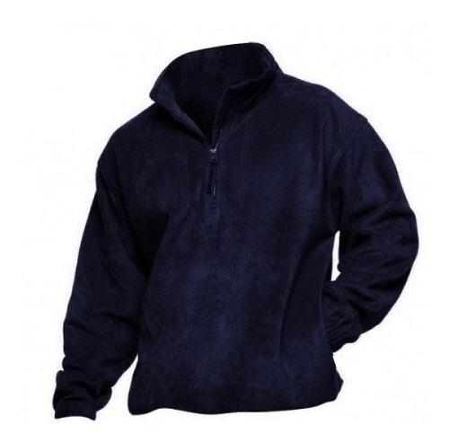 buzo polar azul c/cierre ropa de trabajo 1º calidad