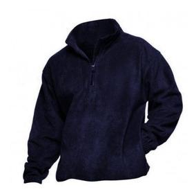 suave y ligero ventas especiales calidad y cantidad asegurada Buzo Polar Azul C/cierre Ropa De Trabajo 1º Calidad