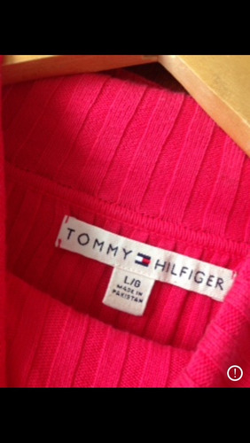 buzo polera tommy hilfiger talle l. impecable
