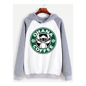 Buzo Stitch Ohana Coffee Starbucks