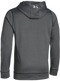 buzo under armour hombre big logo hoodie solid