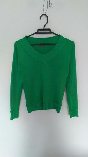 buzo verde talla s marca s-fashion