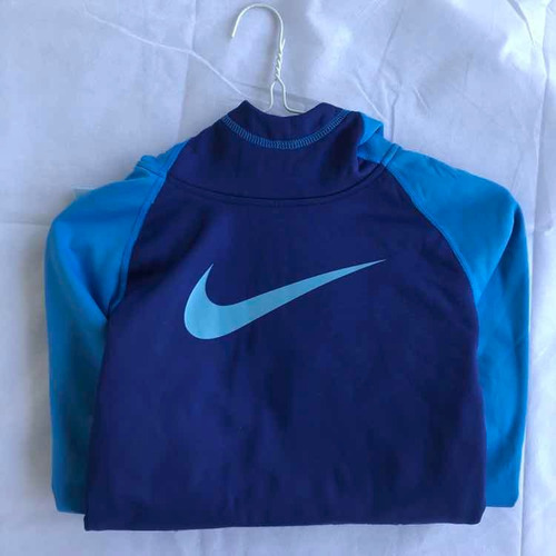 buzo/canguro nike girl's dri-fit thermal pullover hooded