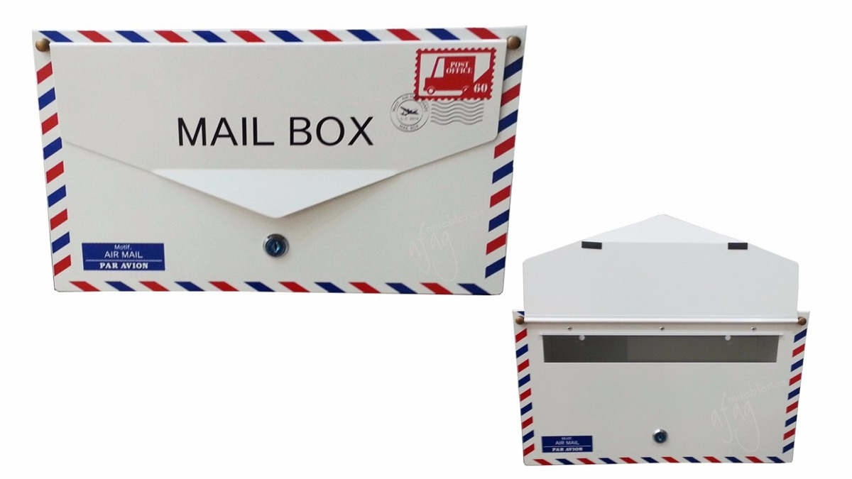 Buz n de correo grande dise o carta sobre gigante for Diseno sobre