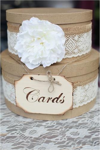 buzon para sobres.  bodas o 15 años. quinceañera matrimonio
