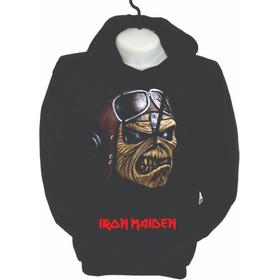 Buzos Busos Hoodie  Iron Maden Heavy Metal Niños Y Adultos