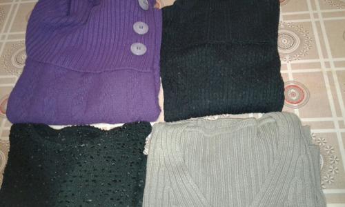 buzos de lana y acrilico mezcla
