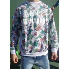 26154c5e58987 Buzo Estampado Flores - Buzos y Hoodies de Hombre en Mercado Libre Argentina