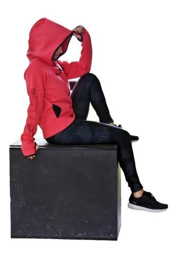 buzos mujer capucha cuello chimenea   buzo mujer envio grtis art 6640