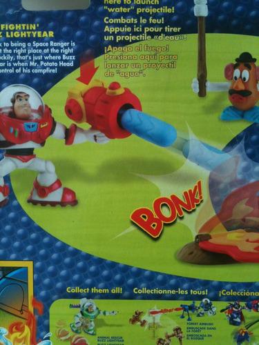 buzz lightyear bombeiro - toy story