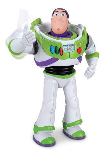 buzz lightyear figura de ação com golpe de karatê toy story