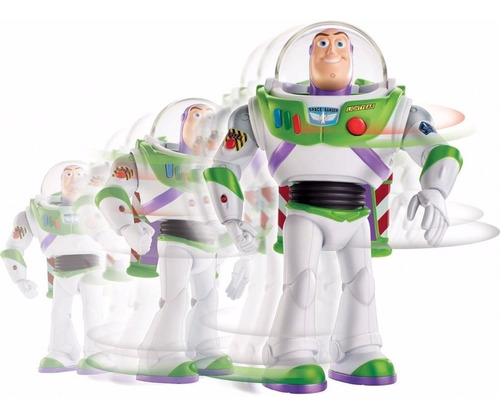 buzz lightyear movimientos reales toy story 4