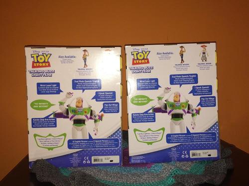buzz lightyear toy story juguete nuevo original bilingüe