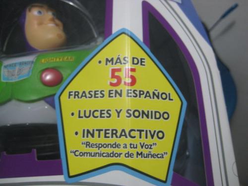 buzz ligthyear + de 55 frases en español + certificado