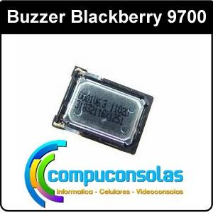 buzzer blackberry 9700