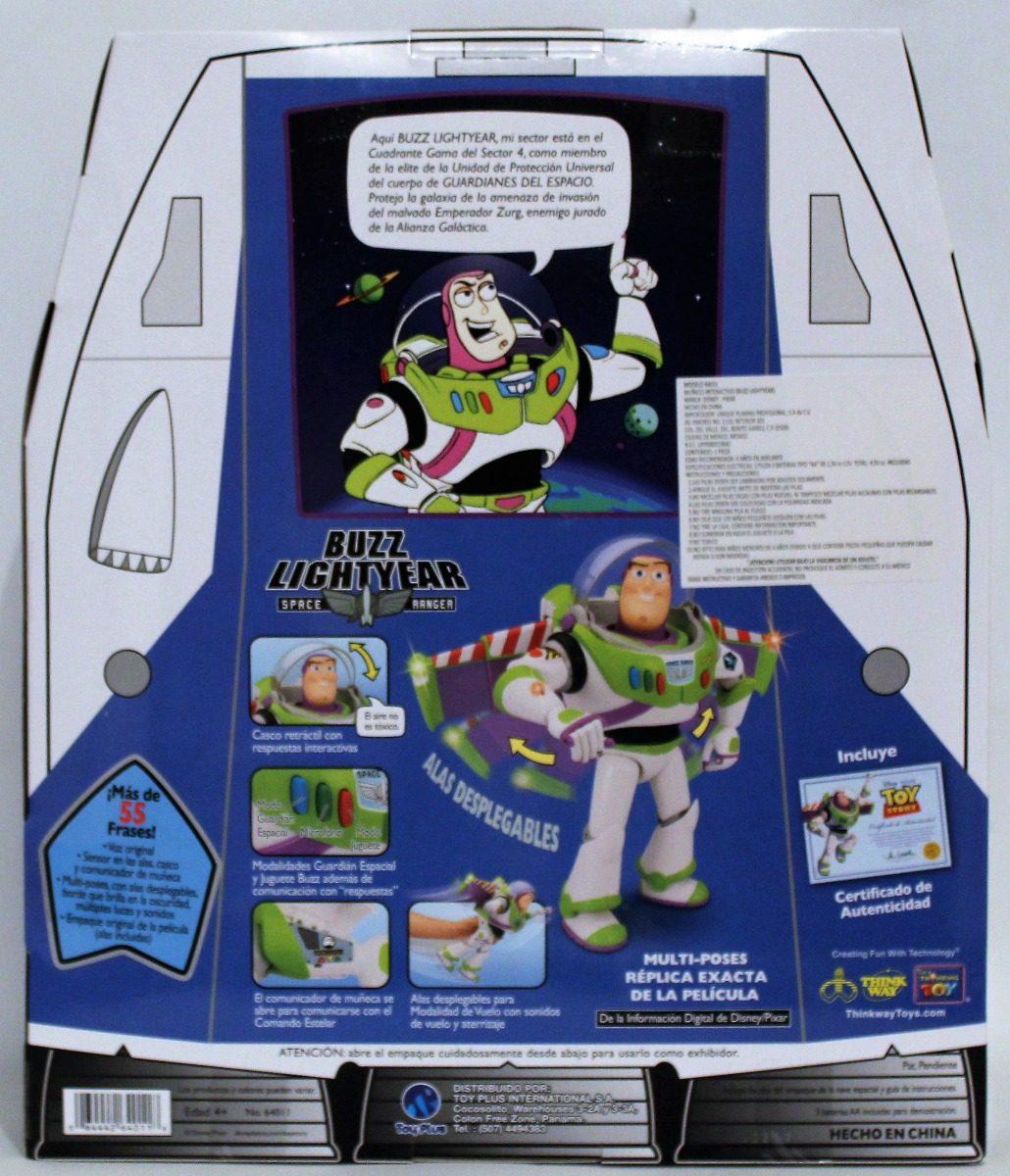 buzzlightyear parlante en español con certificado toy story. Cargando zoom. 3a7858320a9