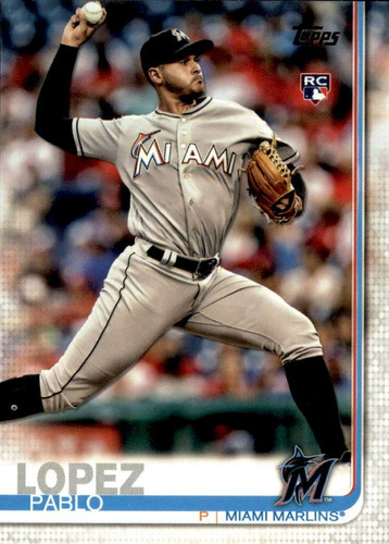 bv pablo lopez rc miami marlins topps serie 1 2019  #151