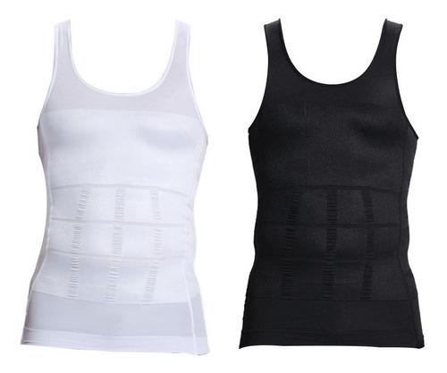 bvd camiseta reductora faja remodela abdomen vividi hombres