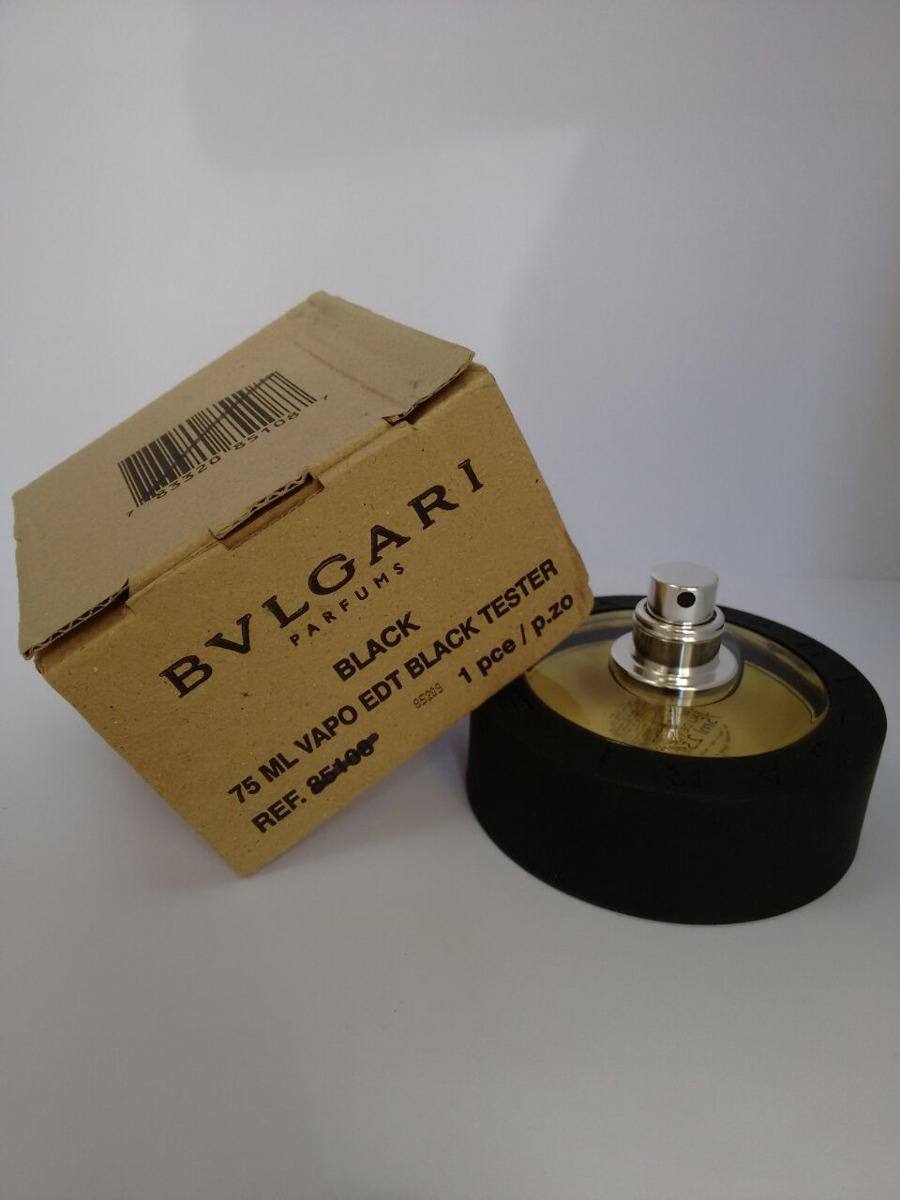 231addf181e bvlgari black unissex eau de toilette 75ml - tester. Carregando zoom.