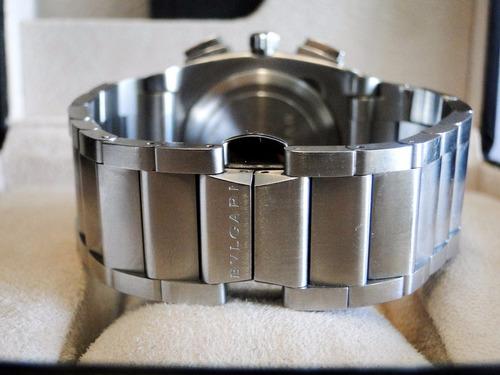 bvlgari ergon 40mm cronográfo todo aço , barato!!!!