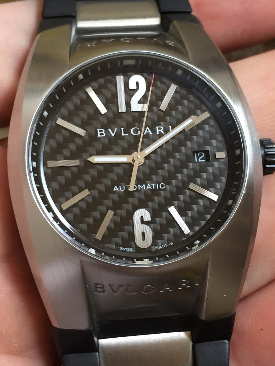 Bvlgari Ergon Eg40s Dial Carbon - Automatic - Oportunidade - R ... 133334bf59