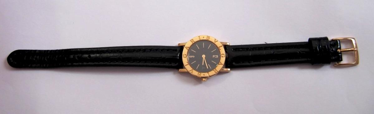 3c5c632e11d Carregando zoom... relógio bvlgari bulgari bb 26 gl feminino quartzo ouro