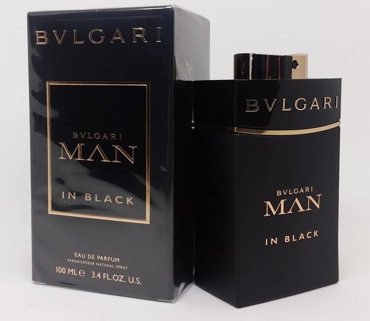 4a0f7295f50 bvlgari man in black 100 ml edp masculino original. Carregando zoom.
