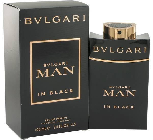 eb8ecd68c08 Bvlgari Man In Black Masculino Edp 100ml Eau De Parfum - R  324