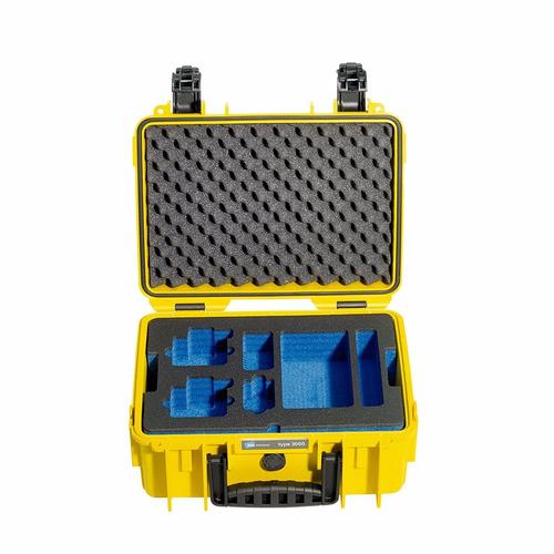 b&w estuche para gopro type 3000/y/gopro 36.5x29.5x17cm-amar