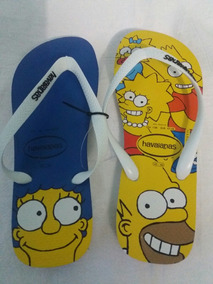 54dd408ed Bx01 Sandalia Chinelo Havaianas Simpsons 45/46 Bart Homer