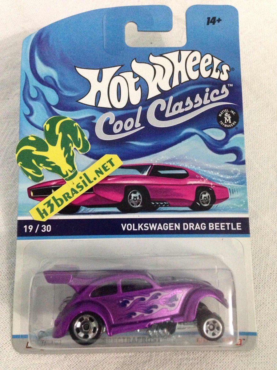 60db0568d0 bx120 hot wheels cool classics vw drag beetle volkswagen bug. Carregando  zoom.
