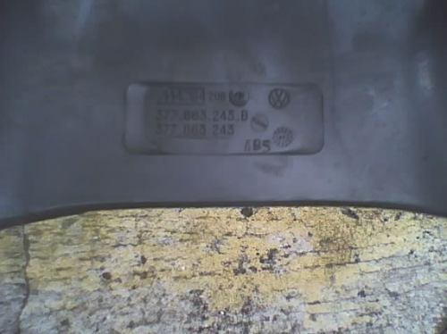 byf23 console linha vw cinza