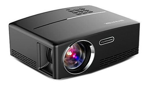 byintek proyector mini gp80 soporte hdmi vga av usb para el
