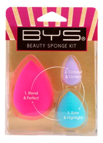 bys cosmetics beauty sponge kit 3 pack co/xppbsk